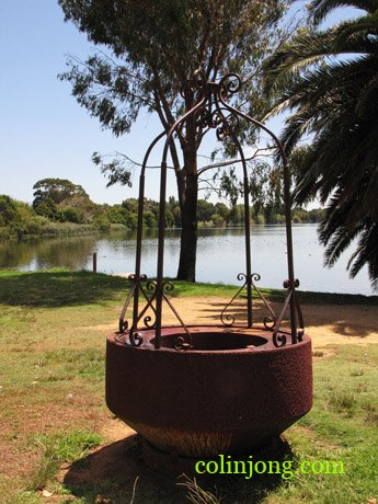 the well and the lake