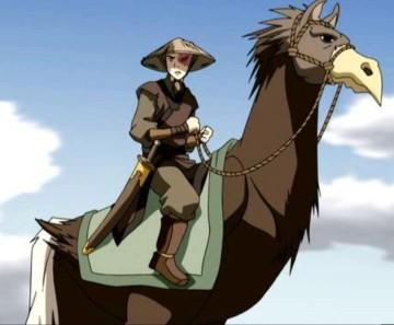 ostrich-horse